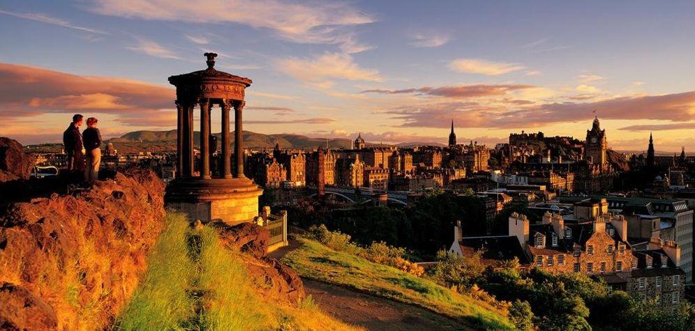 Foto: Edimburgo desde Calton Hill (Foto: ©Paul Tomkins, VisitScotland)