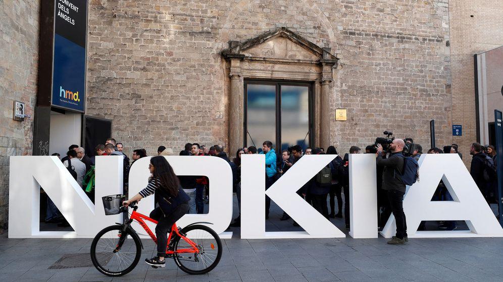 Foto: El logo de Nokia en el Mobile World Congress en Barcelona el año pasado. (Reuters)