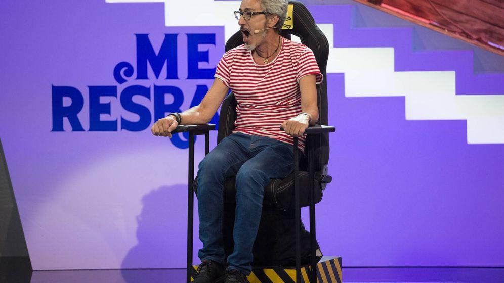 Foto: Raúl Pérez en 'Me resbala'.