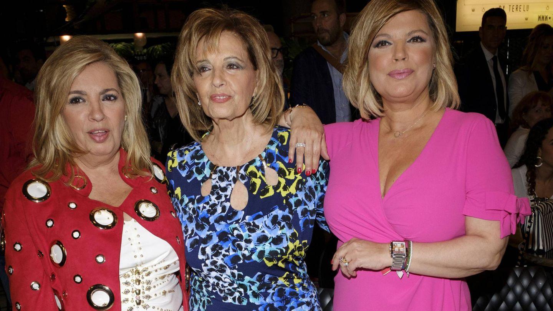Carmen Borrego, María Teresa Campos y Terelu Campos. (Cordon Press)