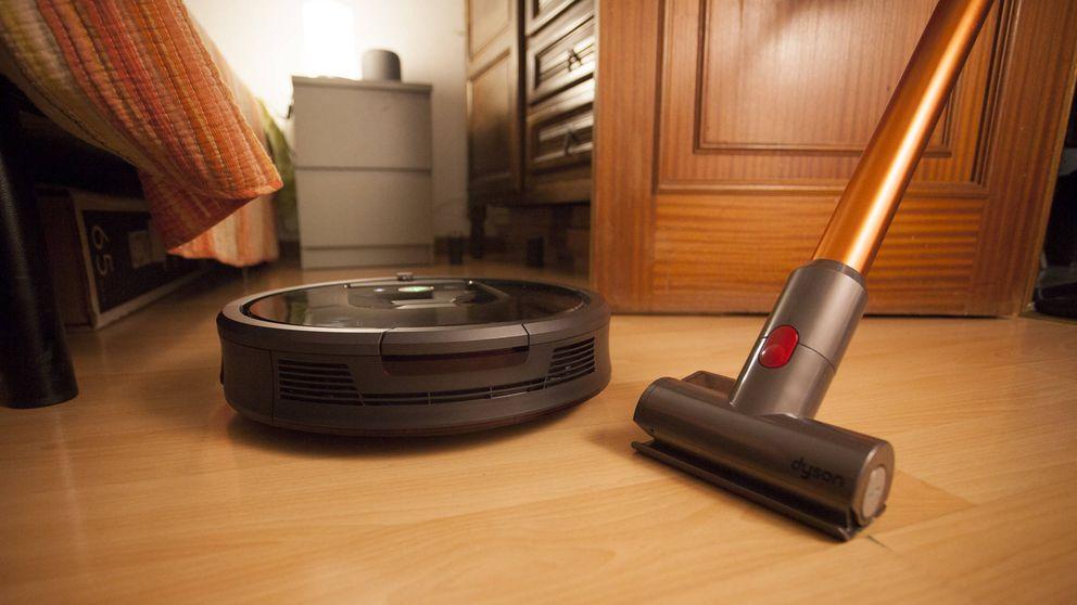 No quiero ver una escoba ni de lejos: mi vida con un robot aspirador y uno sin cables