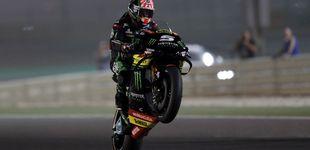 Post de Zarco saca los colores a las Yamaha oficiales con la 'pole' en el GP de Qatar