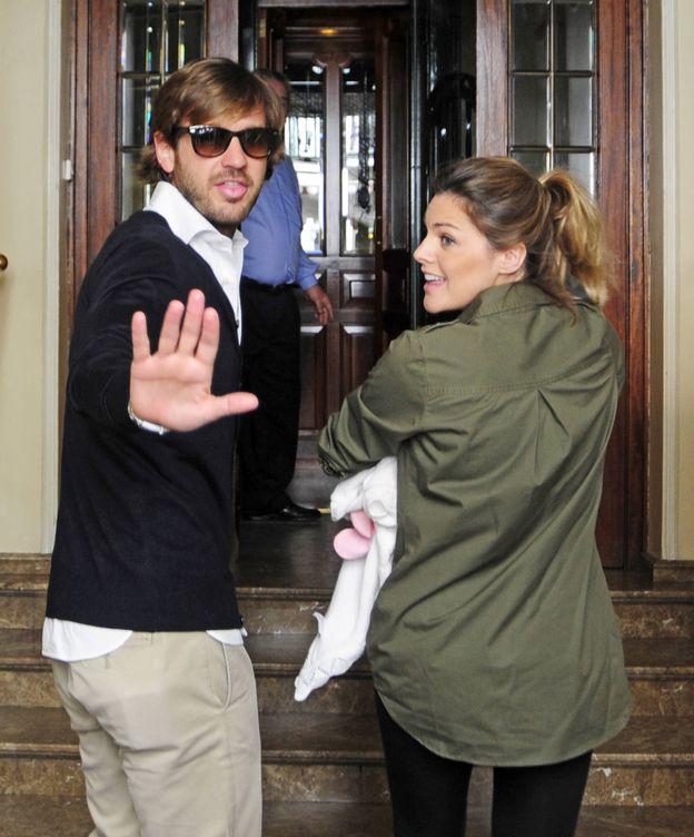Foto: Amaia Salamanca y Rosauro Varo en una imagen de archivo (Gtres)