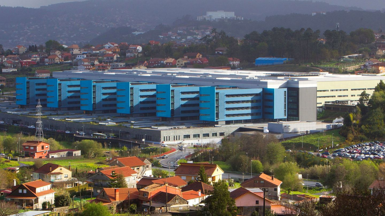 Vista general del Complejo Hospitalario Universitario de Vigo. (EFE)