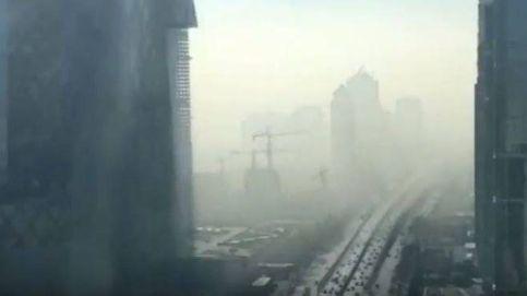 El inquietante vídeo a cámara rápida de la contaminación en Pekín