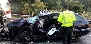 Post de Muere el conductor de un camión tras caer por una ladera en Mos (Pontevedra)