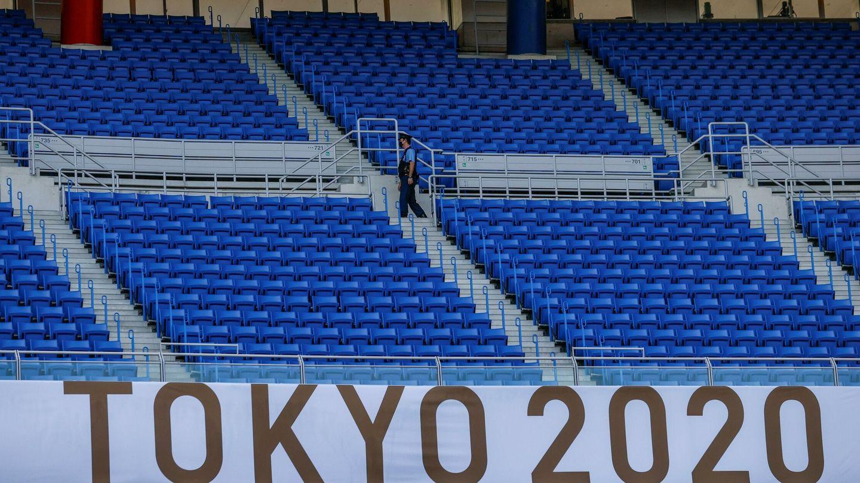 Las Olimpiadas sin público. (EFE)