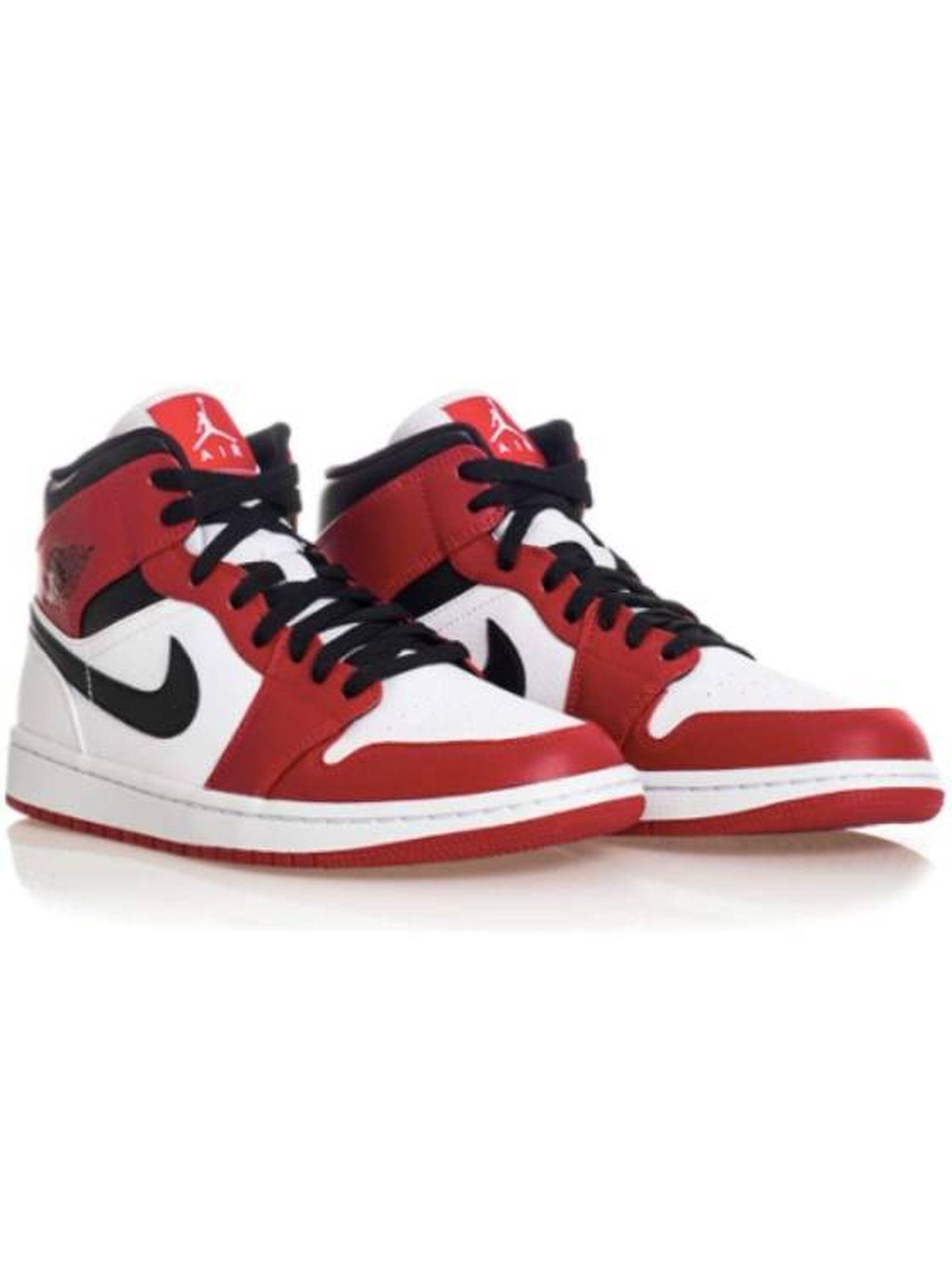 'Air Jordan 1 Mid' de Nike. (Cortesía)