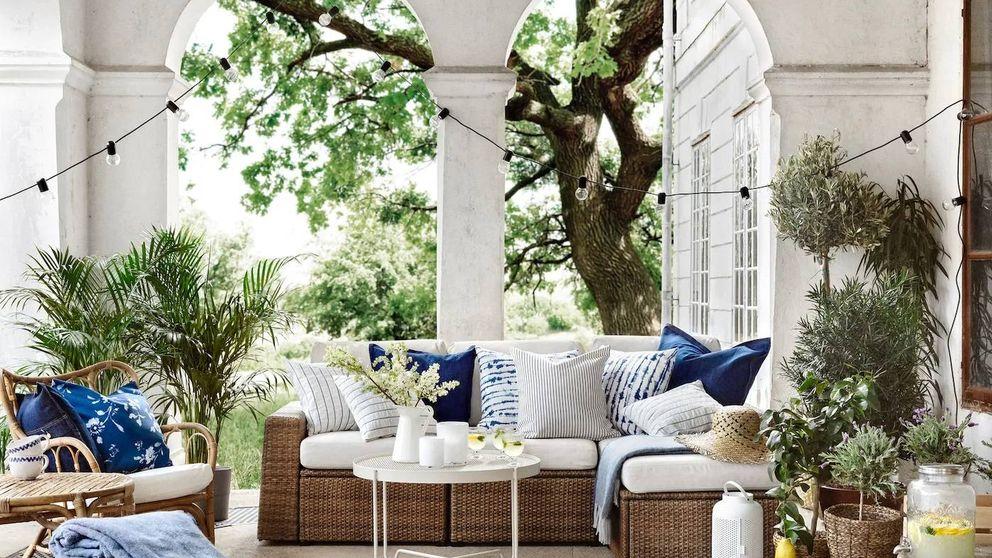 Con estos sofás de Ikea, el jardín o la terraza serán tu refugio perfecto para este verano