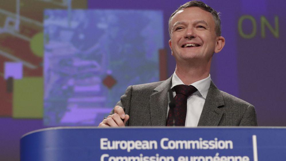 Foto: Eric Mamer, portavoz de la Comisión Europea. (EFE)