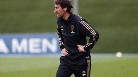 Raúl vuelve a cumplir objetivos en el Real Madrid desde el banquillo del Castilla