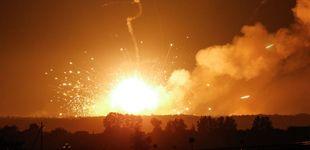 Post de 10.000 evacuados por la explosión en un polvorín en el norte de Ucrania