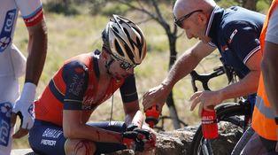 La caída es parte del ciclismo: Si me caigo, no me esperes, me levanto y os alcanzo