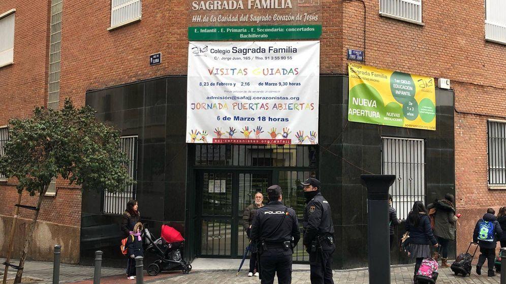Foto: Colegio Sagrada Familia de Madrid. (EC)