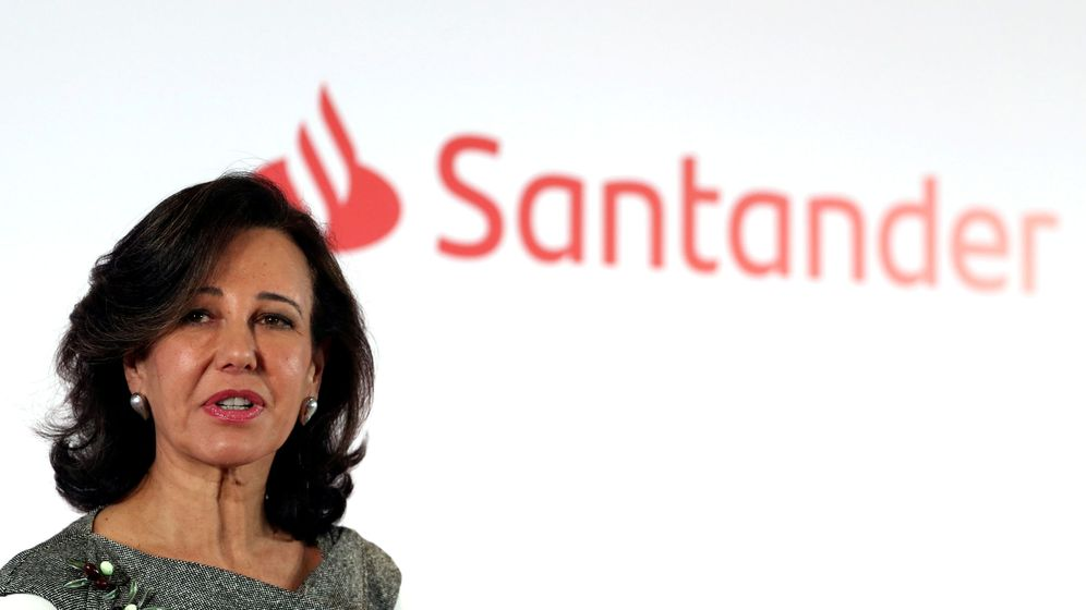 Foto: Ana Botín, presidenta de Santander (Reuters)