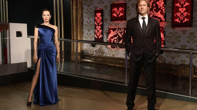 Figuras separadas de Brad y Angelina