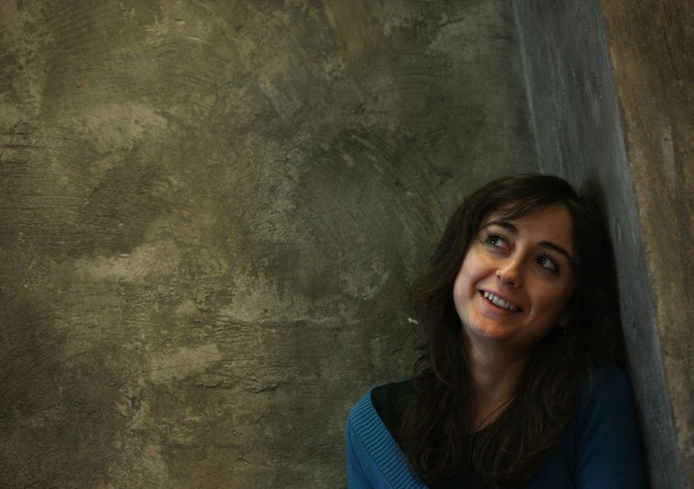 Foto: La escritora Elvira navarro.