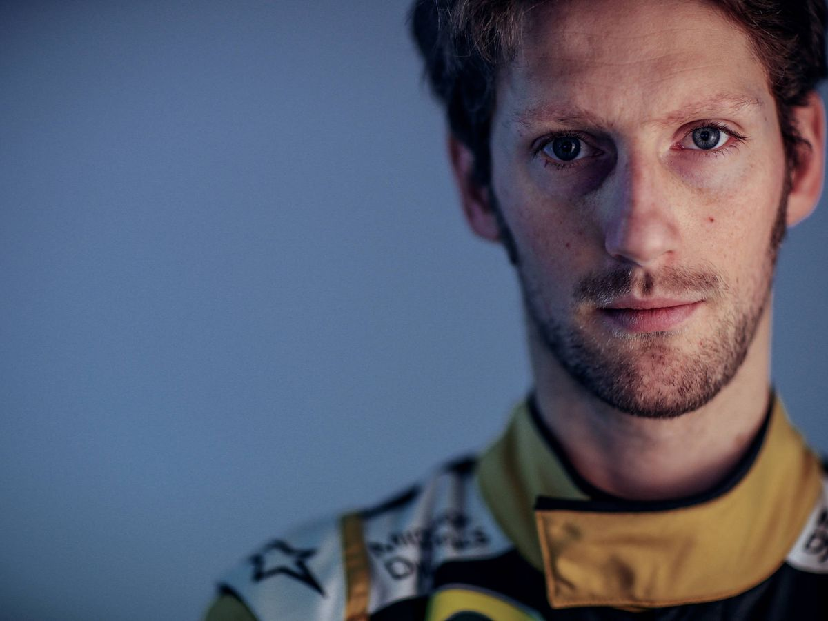 Foto: Romain Grosjean. (Getty)
