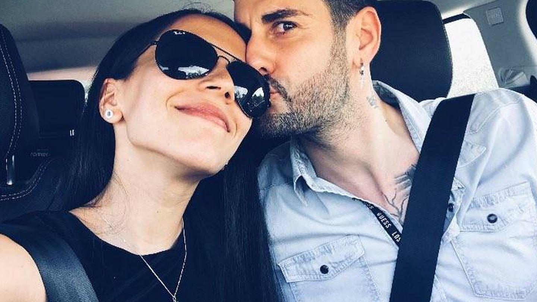 Melendi y Julia en una de las muchas fotos que comparten juntos. (@julianakamatsu)