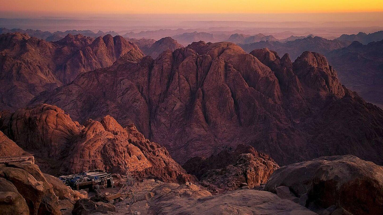Estaba de viaje por Egipto cuando vio cómo su peso le impedía cumplir su sueño: subir a la cima del Monte Sinaí (Creative Commons)