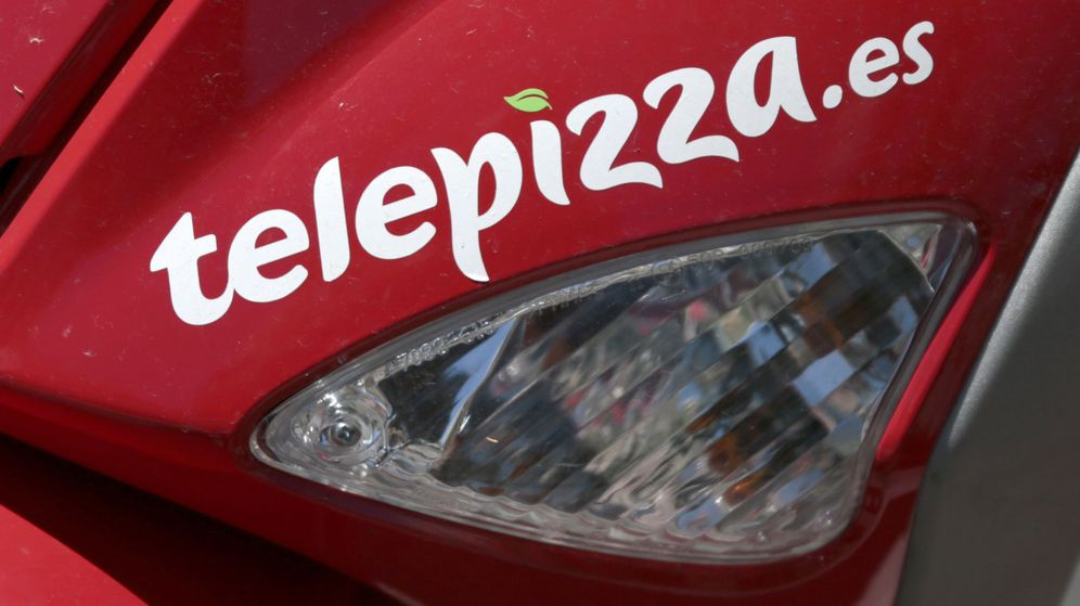 Foto: Logotipo de Telepizza (Reuters)