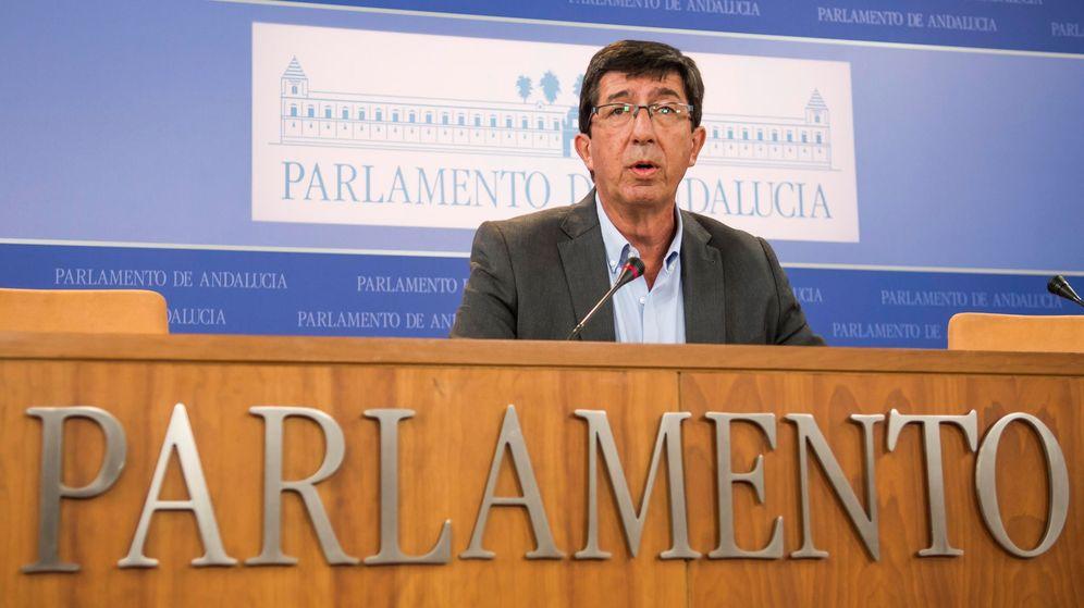 Foto: El líder andaluz de Ciudadanos, Juan Marín. (EFE)
