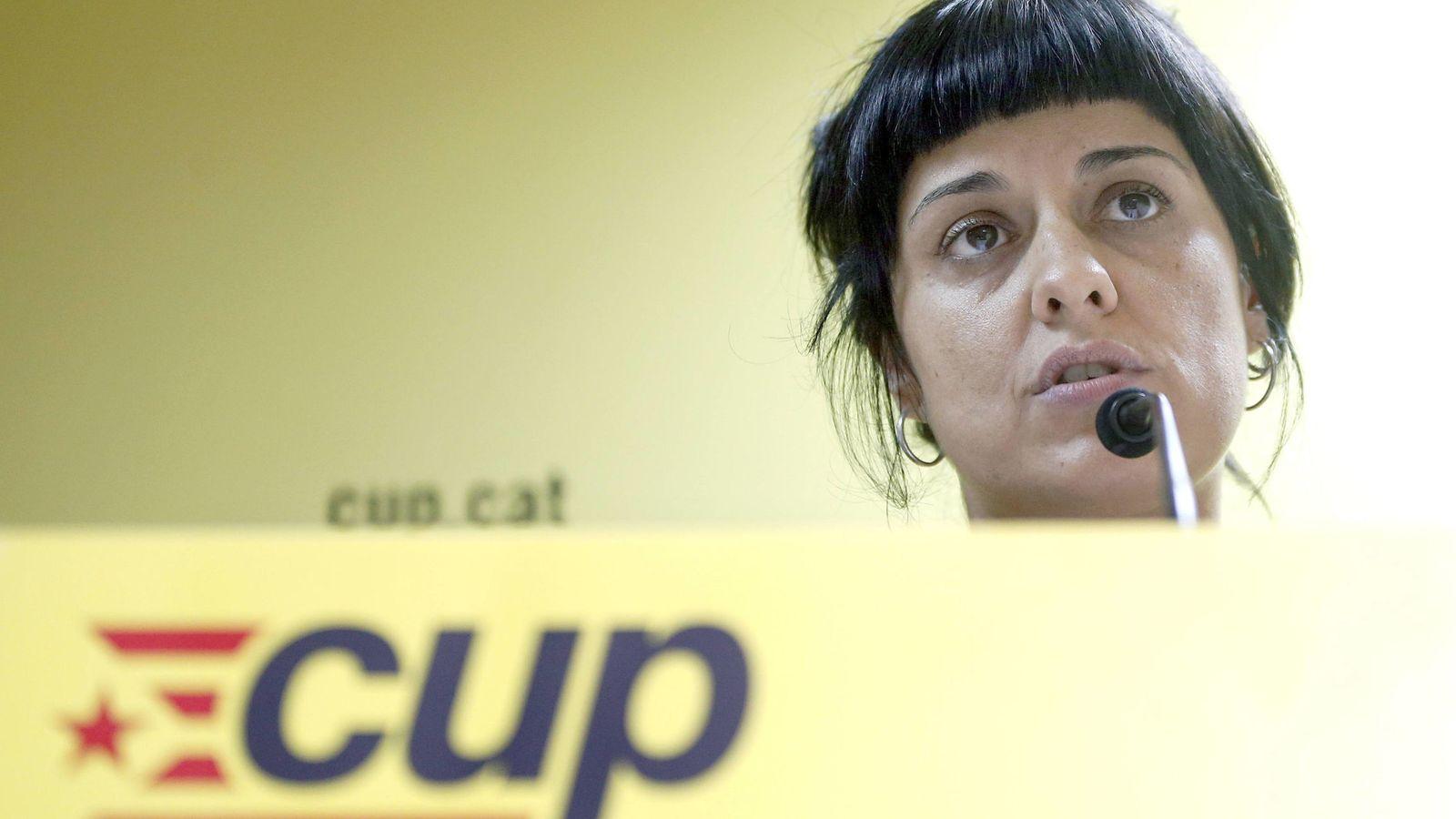 Foto: La dirigente de la CUP Anna Gabriel. (EFE)