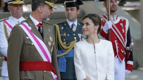 El Rey exhibió el color del fajín de capitán general en su discurso sobre Cataluña
