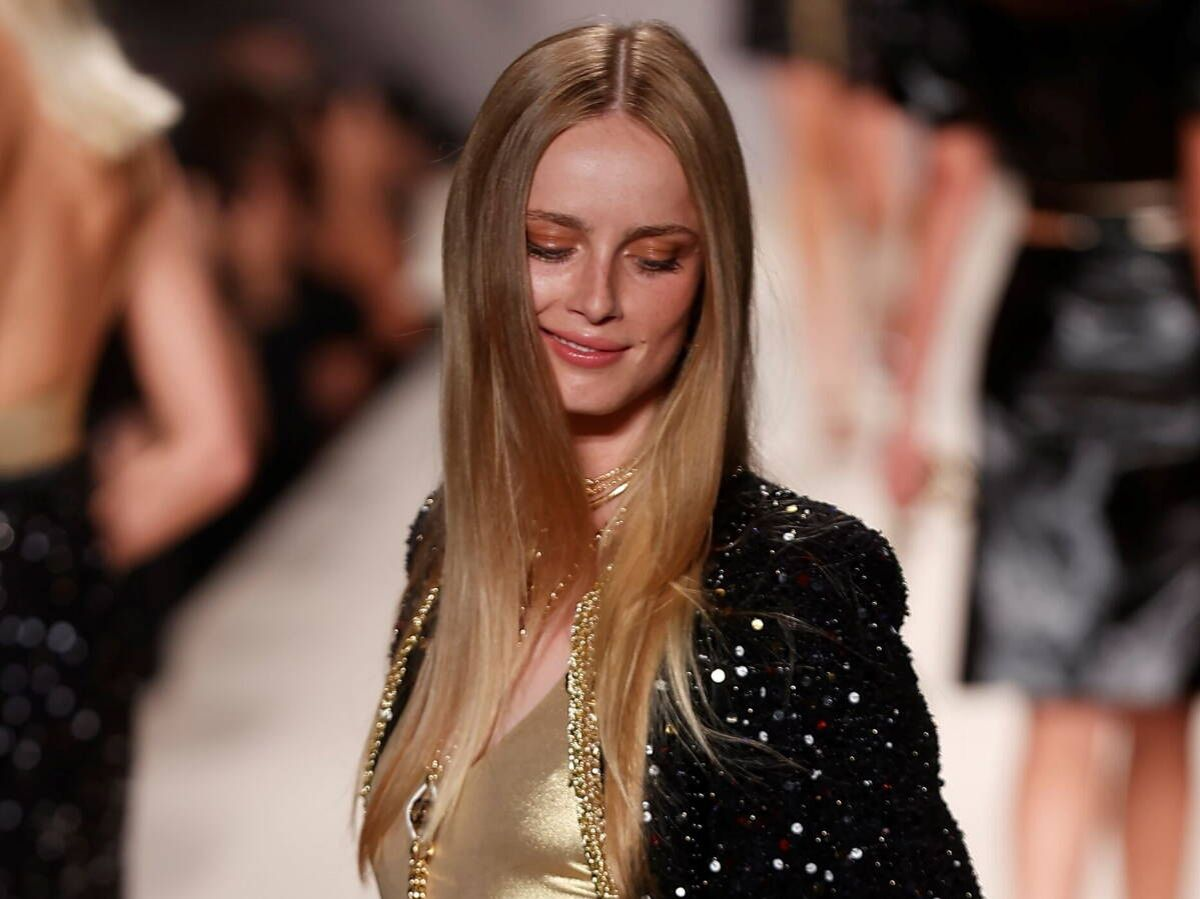 Foto: El look beauty de Chanel nos adelanta las tendencias del 2022. (EFE)