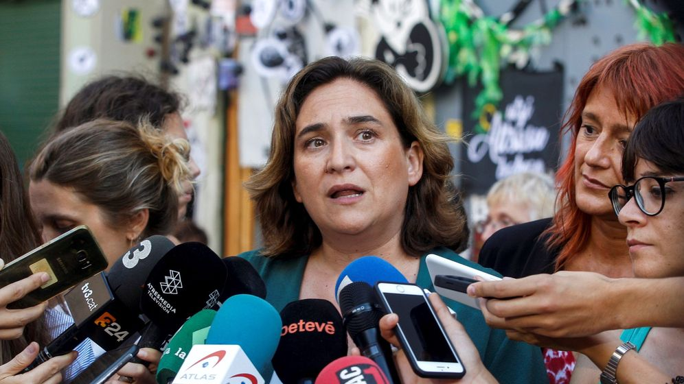 Foto: La alcaldesa de Barcelona, Ada Colau (c). (EFE)