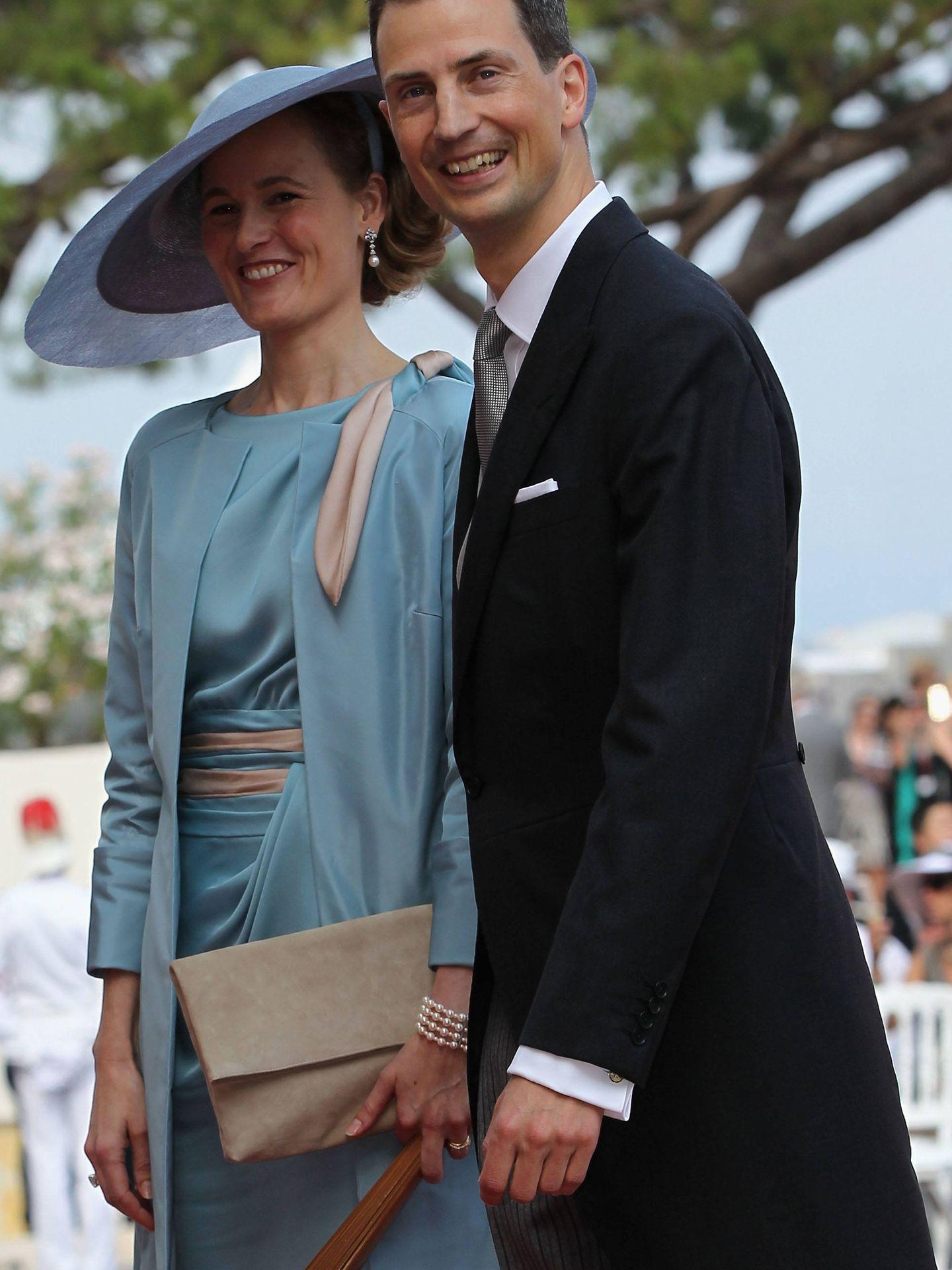 El matrimonio heredero de Liechtenstein. (Getty)
