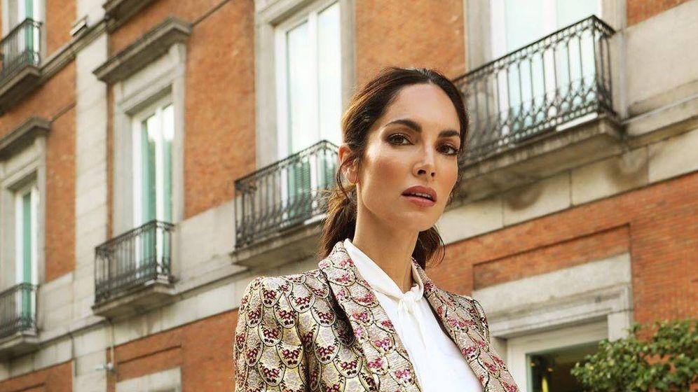 Foto: Eugenia Silva, sofisticada como siempre. (@eusilva)