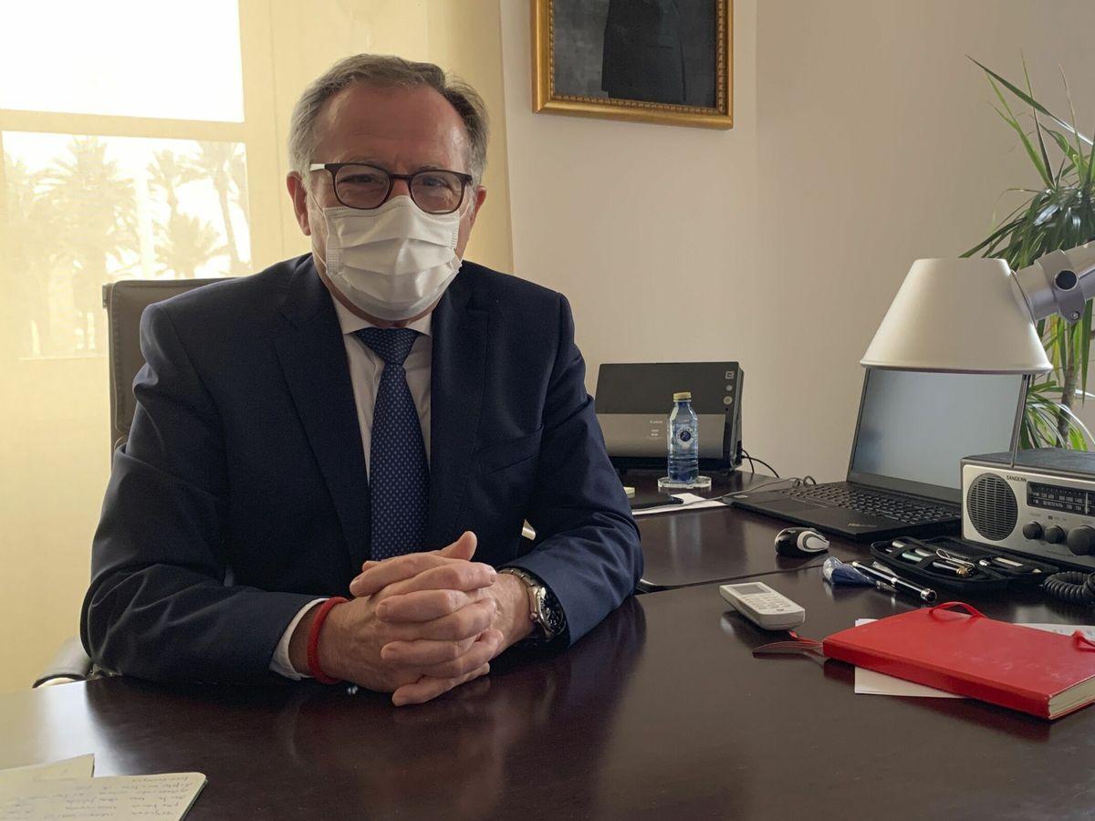Foto: El presidente de Melilla, Eduardo de Castro. (EFE)