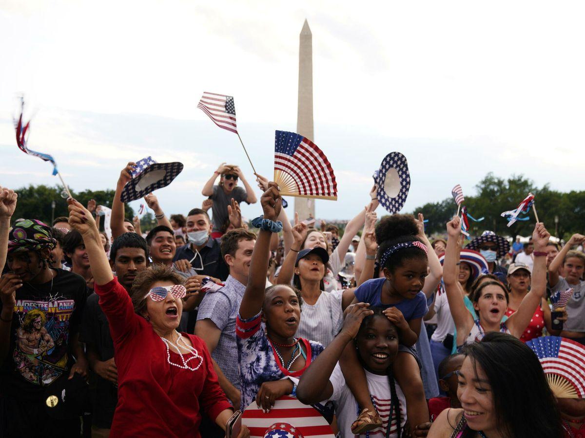Foto: Celebraciones del 4 de julio en Washington. (Reuters)