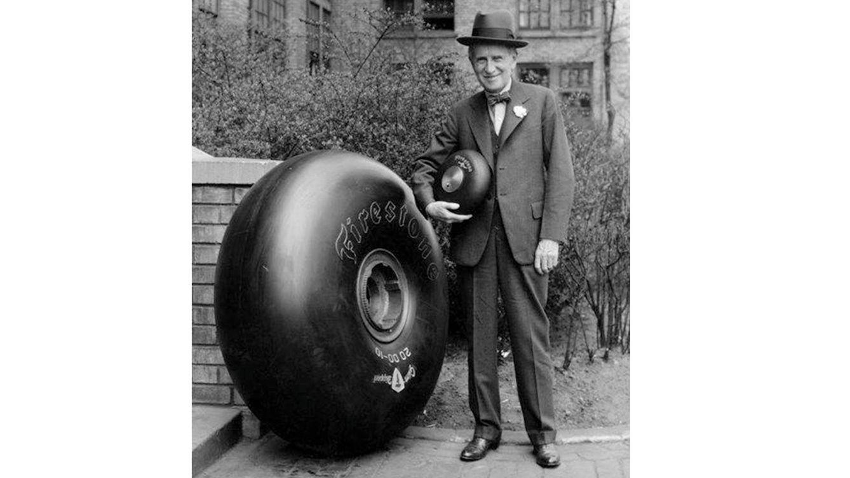 Foto: Harvey Samuel Firestone nació hace 150 años en una granja de Ohio, en Estados Unidos. En la imagen, convertido ya en un exitoso hombre de negocios.