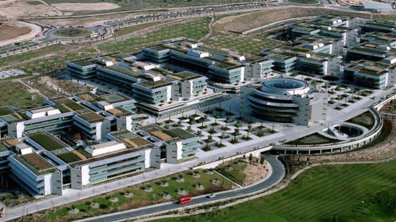 El Banco Santander logra un acuerdo para recomprar su Ciudad Financiera