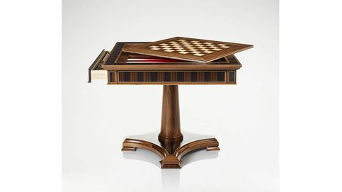 Las mesas y cajas de juegos más exquisitas son inglesas