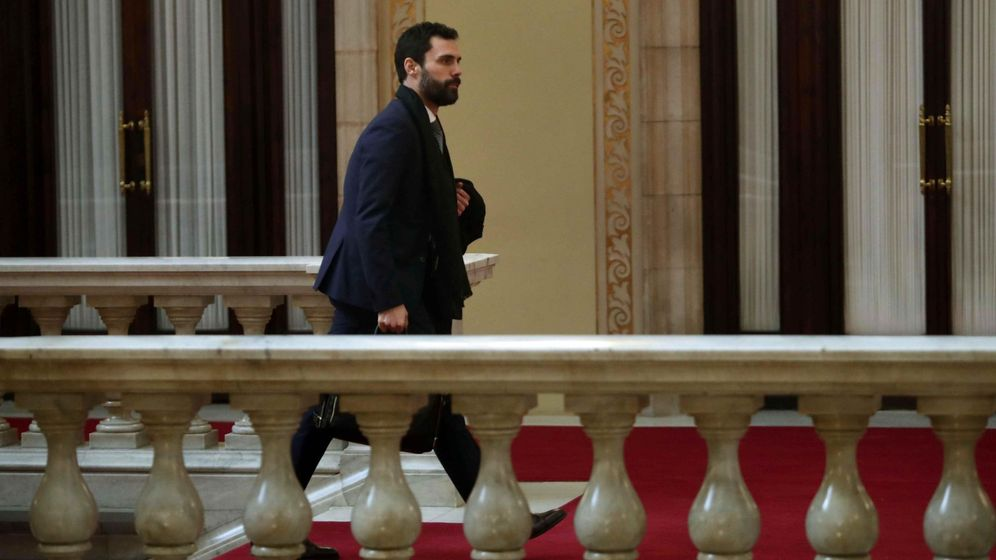 Foto: El presidente de la cámara catalana Roger Torrent. (EFE)