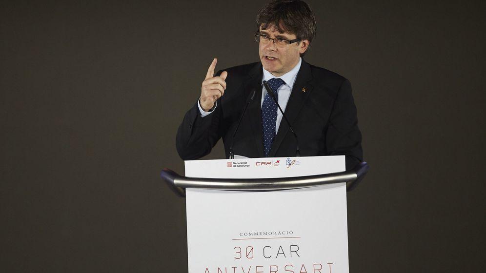 Foto: El presidente de la Generalitat, Carles Puigdemont, en una imagen de archivo. (Efe)