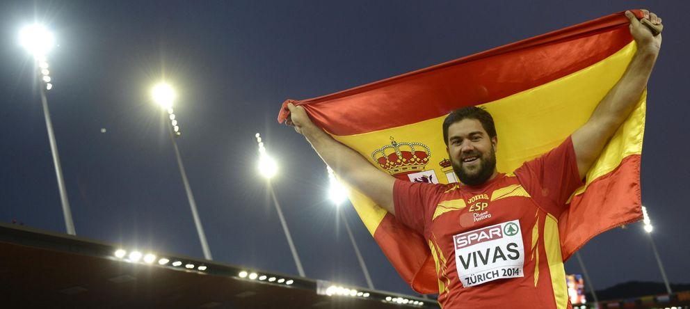 Foto: Borja Vivas, tras quedar segundo en el Europeo de Zúrich (Efe).