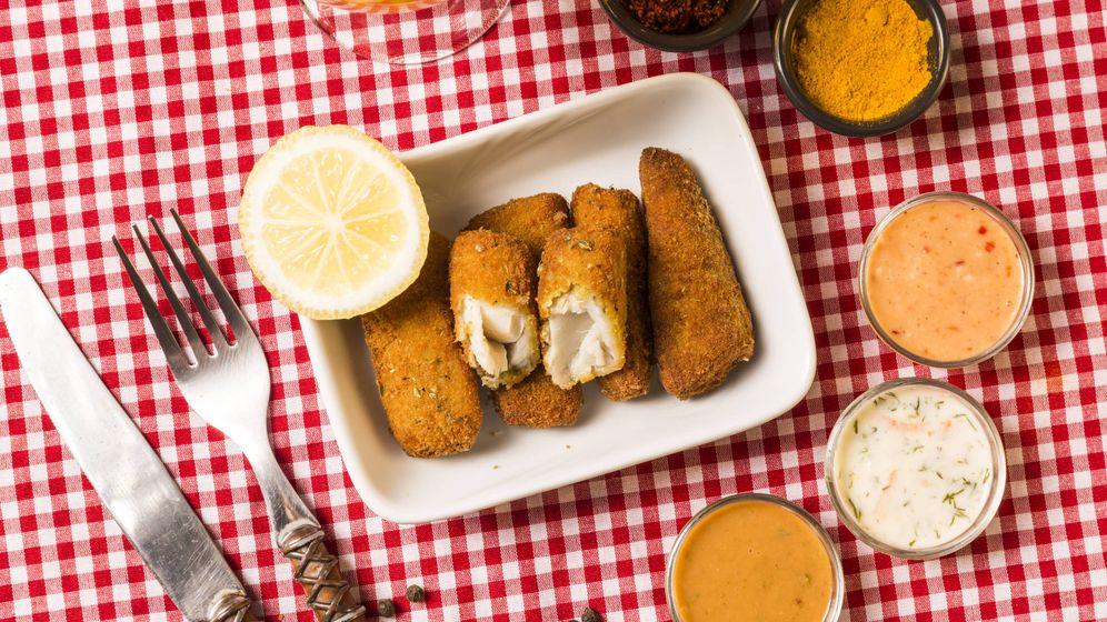 Foto: Croquetas de pollo. (iStock)