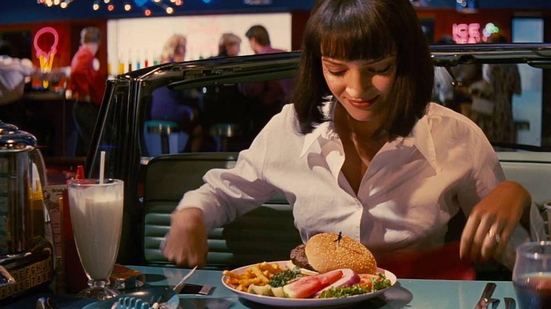 Uma Thurman, en 'Pulp Fiction'. (Miramax)