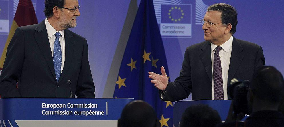 Foto: Mariano Rajoy, presidente español, y José Durao Barroso, presidente de la CE. (Efe)