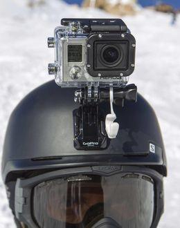 Foto: 'Schumi' llevaba una cámara como ésta.