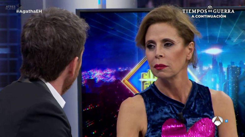 Foto: Agatha Ruiz de la Prada en 'El hormiguero'. (Atresmedia TV)