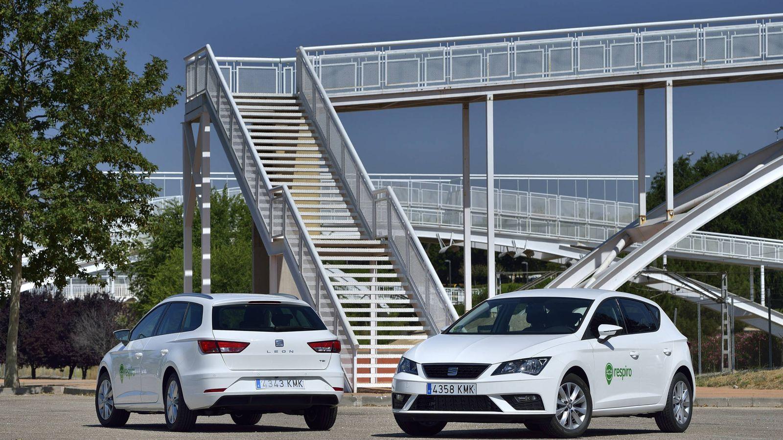 Foto: El programa de carsharing Respiro se amplía hora también a empresas en Madrid y Barcelona con coches de GNC.
