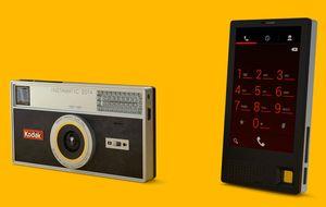 Kodak, de gigante de la fotografía a tener su propio 'smartphone'