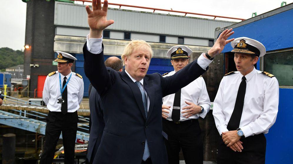Foto: El nuevo primer ministro británico Boris Johnson. (Reuters)