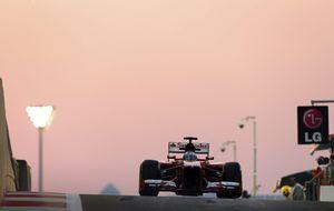 Ferrari ratifica la incomodidad en su parque de Abu Dabi