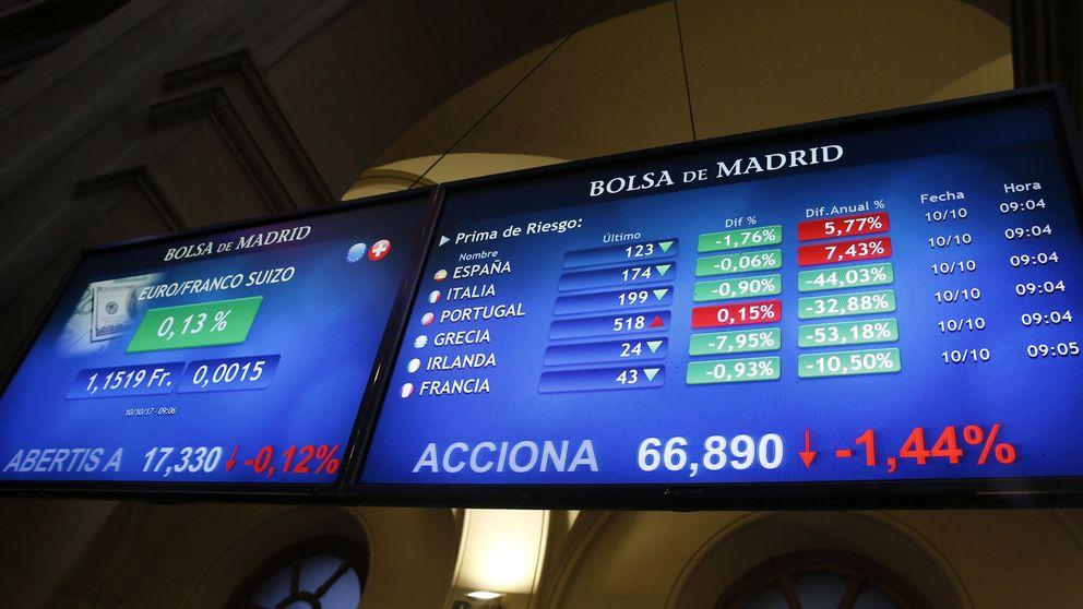La incertidumbre vuelve a pesar en la bolsa española, que cae a contracorriente